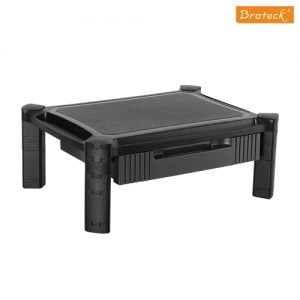 Buy Brateck-AMS-2-Brateck Height-Adjustable Modular Multi Purpose Smart Stand XL with Drawer (435x330x168mm) for most 13''-32'' Weight Capacity 10kg