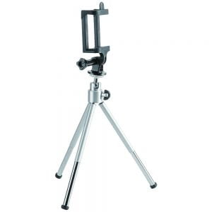 Buy Brateck-BT-WT0252-G-Brateck Mini Tripod for Digital Camera and Phones with GoPro Adapter and Smartphone Holder(LS)