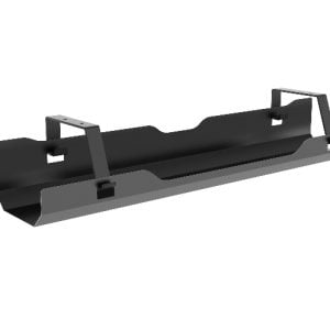 Buy Brateck-CC11-4-B-Brateck Under-Desk Cable Management Tray - Black Dimensions:600x135x108mm