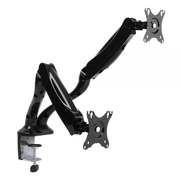 Buy Brateck-LDT09-C024N-Brateck Dual Monitor Interactive Counterbalance LCD VESA Desk Clamp and Grommet Mount Fit most 13''-27'' Monitors Up to 6kg per screen