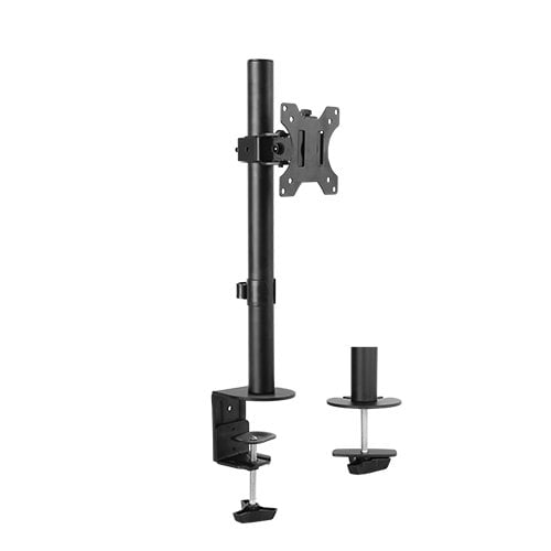 """Buy Brateck-LDT12-C01-Brateck Single Screen Economical Articulating Steel Monitor Arm Fit Most 13""""-32"""" LCD monitors"""