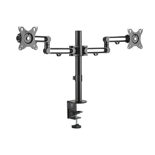 """Buy Brateck-LDT30-C024-Brateck Dual Monitor Premium Aluminum Articulating Monitor Arm Fit Most 17""""-32"""" Monitors Up to 8kg per screen VESA 75x75/100x100"""