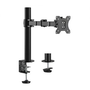"""Buy Brateck-LDT33-C012-Brateck Single Monitor Affordable Steel Articulating Monitor Arm Fit Most 17""""-32"""" Monitor Up to 9kg per screen VESA 75x75/100x100"""