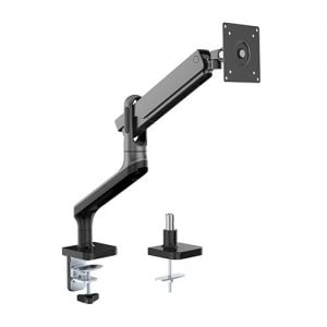 """Buy Brateck-LDT50-C012-B-Brateck Single Monitor Premium Aluminium Spring-Assisted Monitor Arm Fit Most 17"""" - 32"""" Monitor Up to 9Kg Per screen (Black)"""