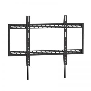 """Buy Brateck-LP37-69F-Brateck X-Large Heavy-Duty Fixed Curved  Flat Panel Plasma/LCD TV Wall Mount Bracket for 60""""- 100"""" TVs"""
