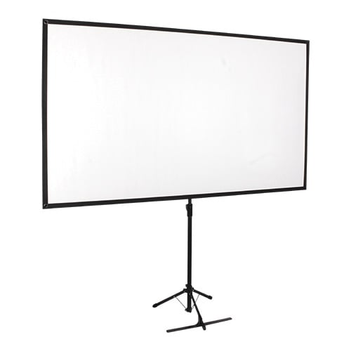 "Buy Brateck-PKDA80-Brateck Economy 80"" Tripod Projector Screen Black 16:9"