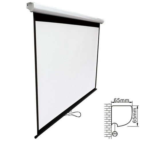 Buy Brateck-PSBA108-Brateck Projector Standard Auto-lock Manual Projection Screen-108'' ( 2.40X 1.35M) /(16:9 Ratio)