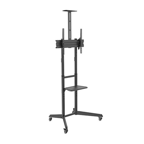 Buy Brateck-T1040T-Brateck Versatile  Compact Steel TV Cart with top and center shelf for 37'-70' TVs Up to 50kg