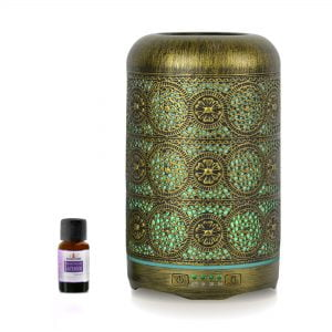 Buy MBEAT-ACA-AD-M1-mbeat® activiva Metal Essential Oil and Aroma Diffuser-Vintage Gold -260ml