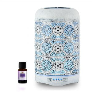 Buy MBEAT-ACA-AD-M2-mbeat® activiva Metal Essential Oil and Aroma Diffuser-Vintage White -260ml (L)