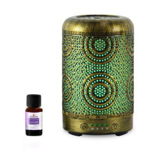 Buy MBEAT-ACA-AD-S1-mbeat® activiva Metal Essential Oil and Aroma Diffuser-Vintage Gold -100ml
