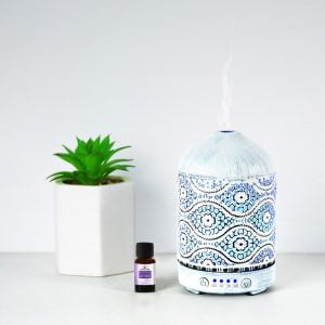 Buy MBEAT-ACA-AD-S2-mbeat® activiva Metal Essential Oil and Aroma Diffuser-Vintage White -100ml