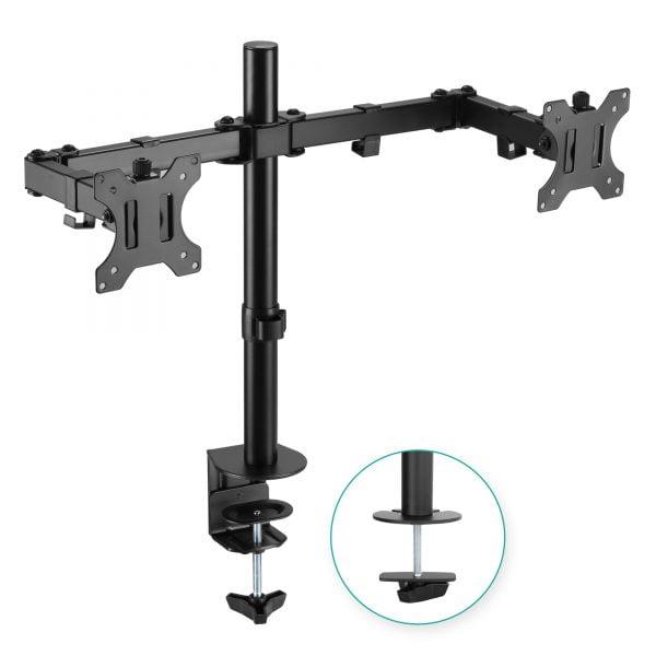 Buy MBEAT-ACA-BMA-DC01K-mbeat® activiva ErgoLife Dual Monitor Screen Double Joint Monitor Arm