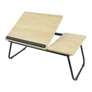 Buy MBEAT-ACA-LDSK-01OAK-mbeat®  activiva Erogolife Portable Laptop  Reading Table - White Oak Color