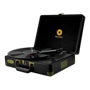 Buy MBEAT-MB-TR89BLK-mbeat® Woodstock Retro Turntable Player BLACK