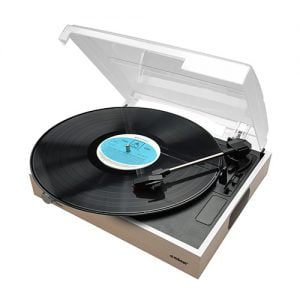 Buy MBEAT-MB-USBTR68-mbeat® Wooden Style USB Turntable Recorder -  Vinyl to MP3 Built-in Stereo Speakers Vinyl 33/45/78 - Natural
