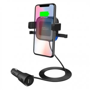 Buy MBEAT-MB-WCS-02-mbeat® Gorilla Power 10W Wireless Car Charger with 2.4A USB Charging