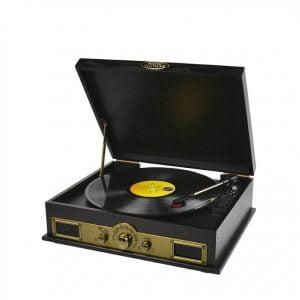 Buy MBEAT-USBTR98-mbeat® Vintage USB Turntable with Bluetooth Speaker and AM/FM Radio -  Vinyl Turntable Record Player
