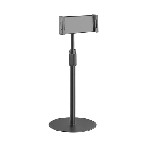 """Buy Brateck-TBS01-1-B-Brateck Ball Join designHight Adjustable tabletop Stand for Tablets  Phones Fit most 4.7""""-12.9"""" Phones and Tablets - Black"""