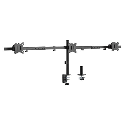"Buy Brateck-LDT57-C03-Brateck Triple Moitors Pole Mount Monitor Mount Fit Most 17""-32"" Monitors"