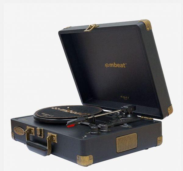 Buy MBEAT-MB-TR96BLK-mbeat®  Woodstock 2 Black Retro Turntable Player