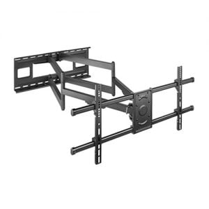 "Buy Brateck-LPA49-486XLD-Brateck Extra Long Arm Full-Motion TV Wall Mount For Most 43""-90"" Flat Panel TVs Up to 80kg VESA 200x200/300x200/300x300/400x200/400x300/MAX 800x400"