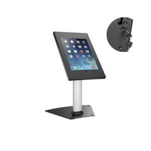 "Buy Brateck-PAD12-04N-Brateck Anti-theft Countertop Tablet Kiosk Stand 9.7""/10.2"" iPad"