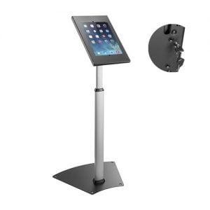 "Buy Brateck-PAD12-05N-Brateck Anti-theft Height Adjustable Tablet Kiosk Stand  9.7""/10.2"" Ipad"