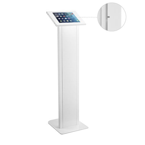 """Buy Brateck-PAD32-01-Brateck Anti-theft Freestanding Tablet Kiosk Stand  9.7""""/10.2"""" Ipad"""