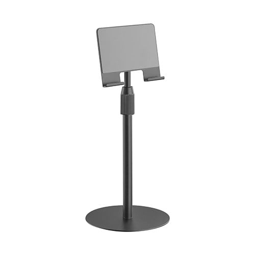 """Buy Brateck-TBS01-2-B-Brateck Hight Adjustable tabletop Stand for Tablets  Phones Fit most 4.7""""-12.9"""" Phones and Tablets - Black"""
