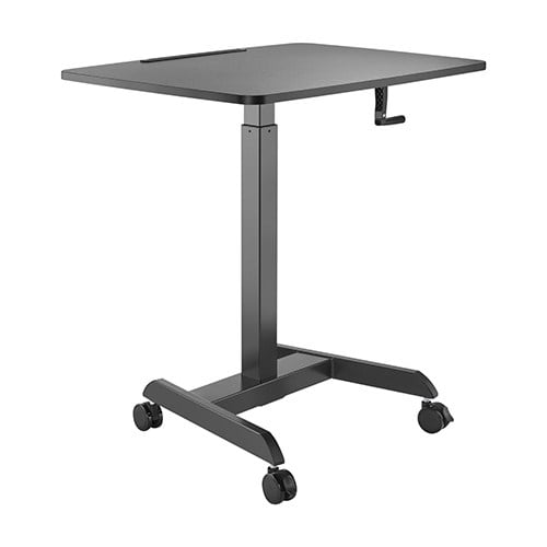 Buy Brateck-FWS08-4-B-Brateck Manual Height Adjustable Workstation with casters  - Black