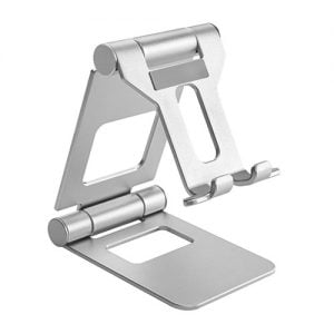 Buy Brateck-PHS05-2-SILVER-Brateck Aluminium Foldable Stand Holder for Phones and Tablets- Silver