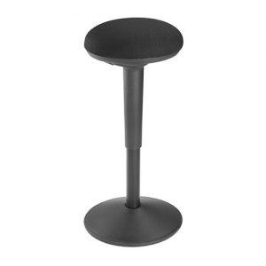 Buy Brateck-CH04-11-B-Brateck Ergonomic Height Adjustable Wobble Stool (355x355x550-750mm) Up to 100Kg
