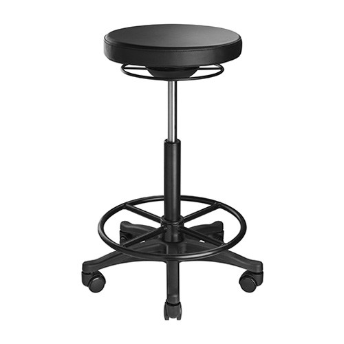 Buy Brateck-CH04-12-B-Brateck Ergonomic Height Adjustable Stools  (385x385x600-835mm) Up to 100 Kg