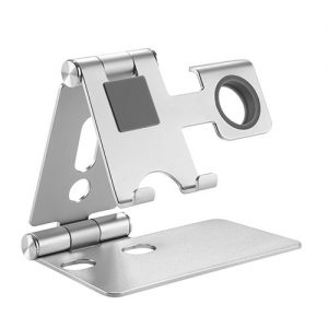 Buy Brateck-PHS01-2-Brateck 2 in 1 Foldable Cell Phone and Smartwatch Stand (≤6.5'')